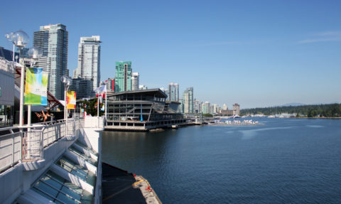 Canada Place an Vancouver Waterfront