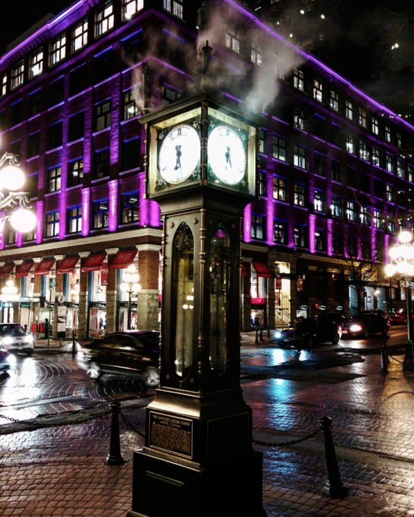 Steam Clock in Vancouver Gastown