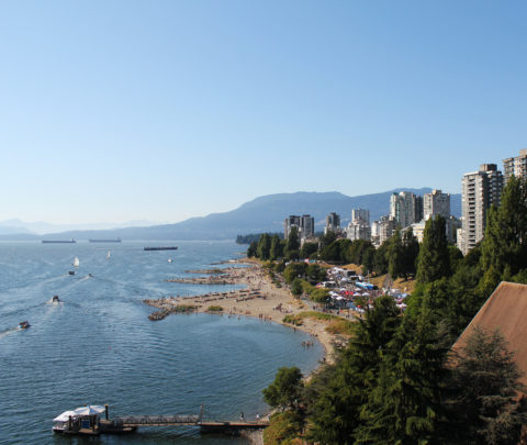 Vancouver Pride Sunset Beach