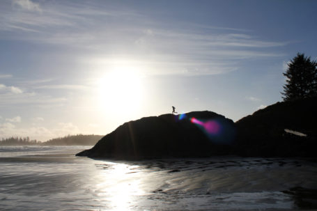 Long Beach Tofino Sonnenuntergang