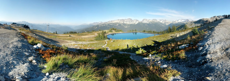 Whistler Mountain Bergsee Panorama
